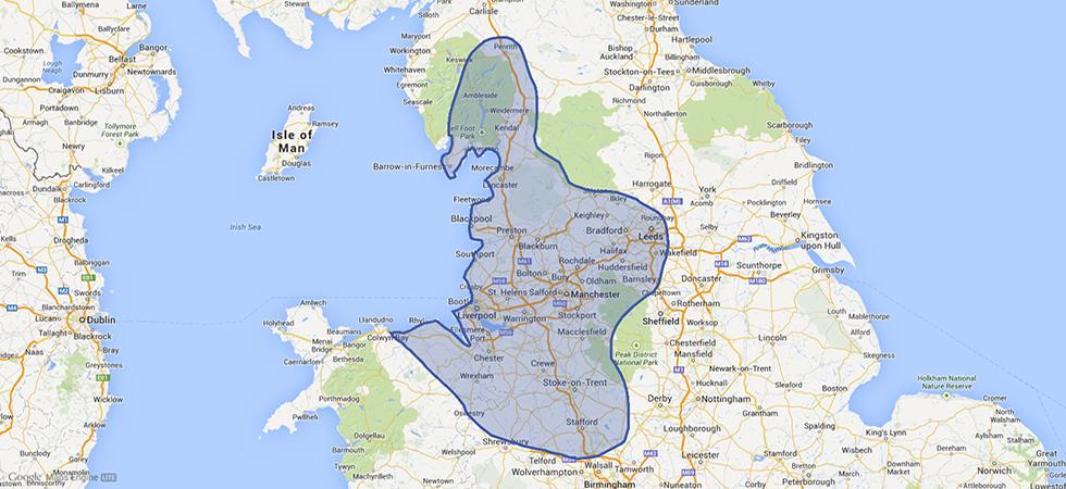 Ambrose Region Map