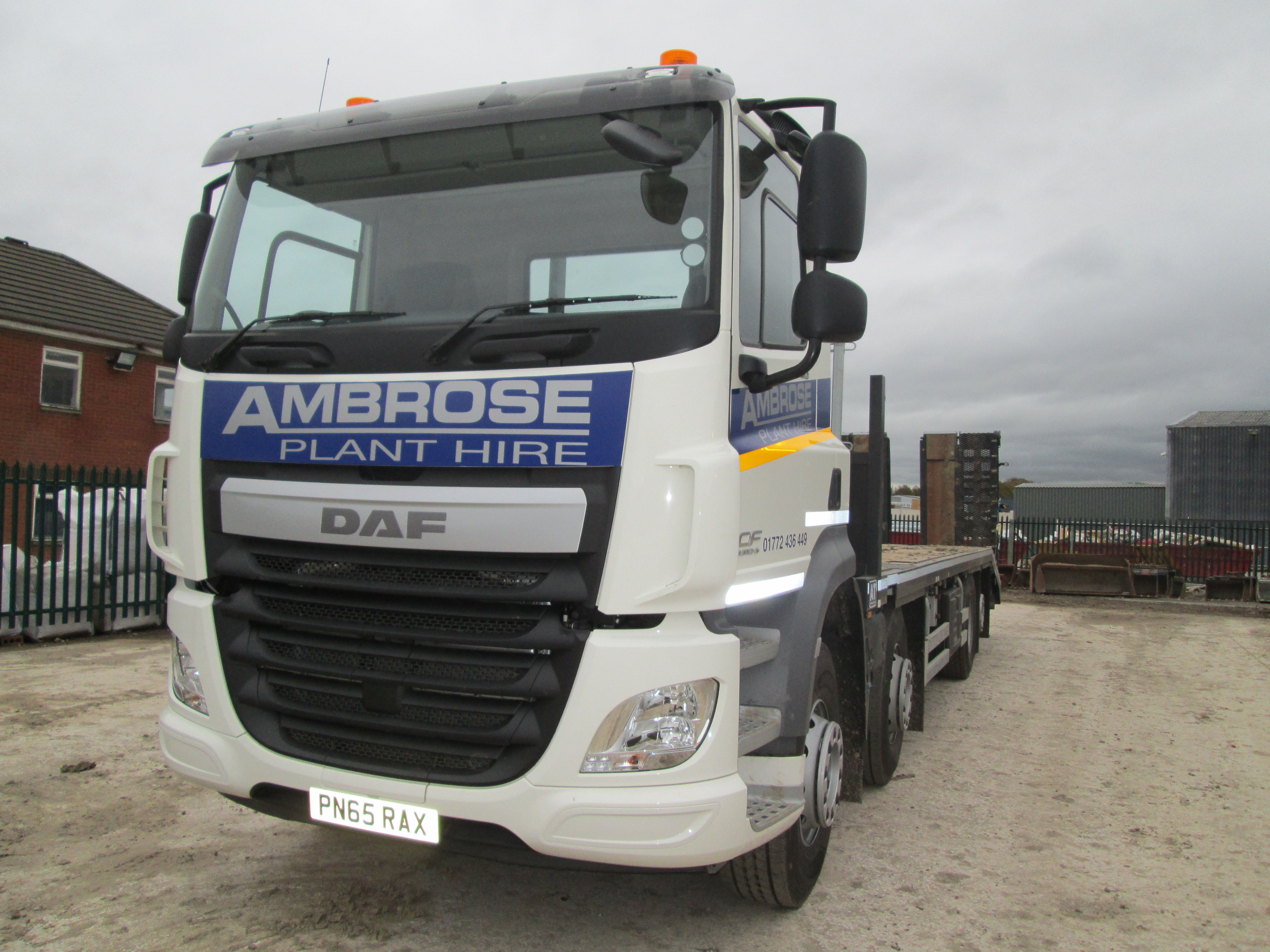 Ambrose Hire take delivery of new DAF Euro 6   Ambrose Plant