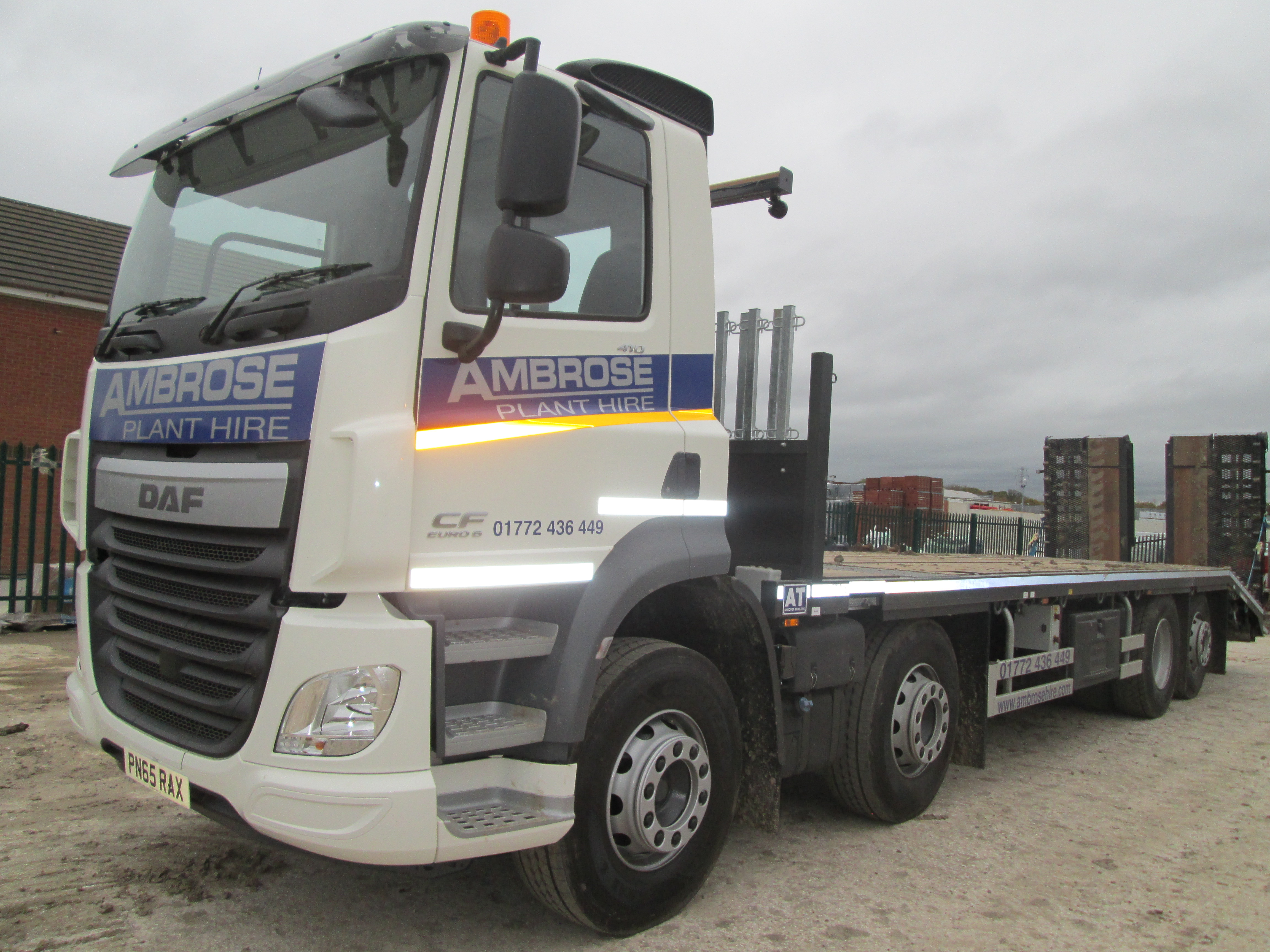 Ambrose Hire take delivery of new DAF Euro 6 | Ambrose Plant